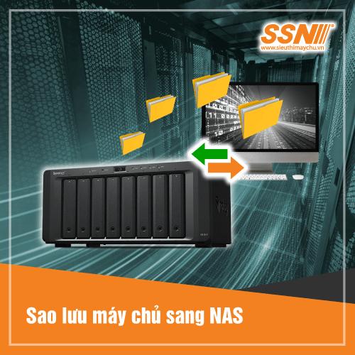 Cài Đặt - Sao Lưu Server sang NAS Synolgy
