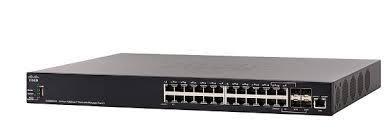 Thiết Bị Mạng Switch Cisco SX350X-24-K9-EU