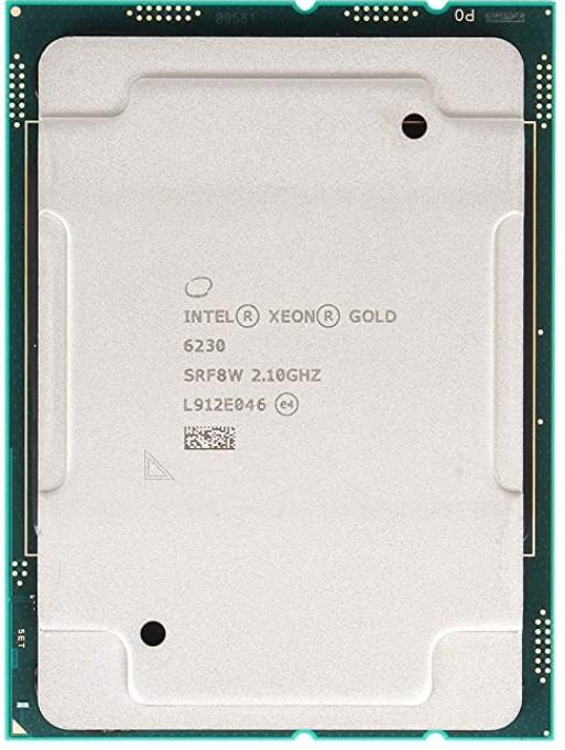 Intel® Xeon® Gold 6230 Processor 27.5M Cache, 2.10 GHz