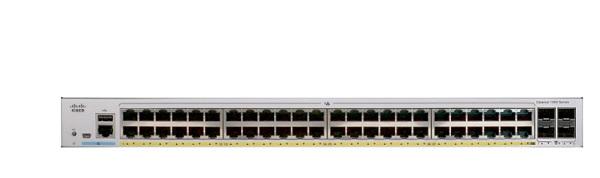 Thiết Bị Mạng Switch Cisco 48-Ports 10/100/1000 Ethernet + 4-port 1G SFP Uplink C1000-48T-4G-L