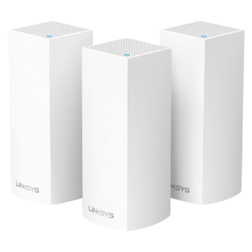 Thiết Bị Mạng Wifi Linksys Velop Home  Intelligent Mesh System WHW0303 - 3 Pack AC6600