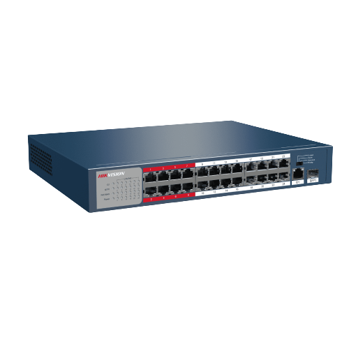 Thiết Bị Mạng Switch PoE 24-port 10/100Mbps HIKVISION DS-3E0326P-E/M