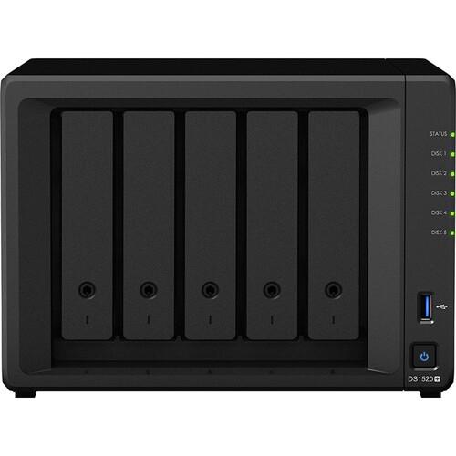 Thiết Bị Lưu Trữ Synology DiskStation DS1520+ 5-Bay NAS Enclosure