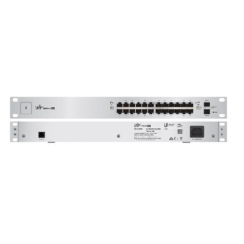 Thiết Bị Mạng Switch Ubiquiti Gigabit 24 Port Unifi US-24