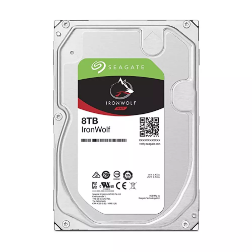 Ổ Cứng HDD Seagate 8TB NAS IronWolf 7200rpm SATA 3.5inch 256MB Cache
