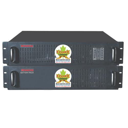 Bộ Lưu Điện UPS Santak True Online 3KVA Rack Mount Mode C3KR