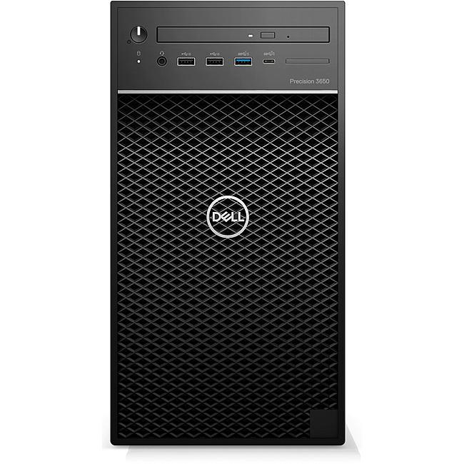 Máy bộ PC Dell Precision T3650 Tower 70261833 (W-1350/2x4GB DDR4/1TB/Nvidia Quadro P620 2GB 4mDP/DVDRW/Key + Mouse/Ubuntu)