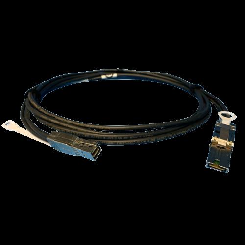 Cable EMC 2M Mini-HDX4 to Mini-SASX4 SFF-8088 to SFF-8644 SAS 038-003-810