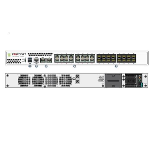 Thiết Bị Mạng Firewall Fortinet FortiGate FG-400E-BDL-950-12