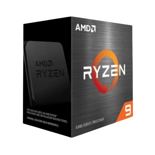 CPU AMD Ryzen 9 5950X (3.4 GHz Upto 4.9GHz /72MB /16 Cores 32 Threads /105W /Socket AM4)