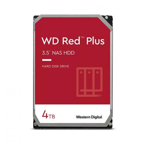 Ổ Cứng HDD 4TB Western Digital Red Plus 3.5 inch 6Gb/s 128MB Cache 5400RPM SATA III
