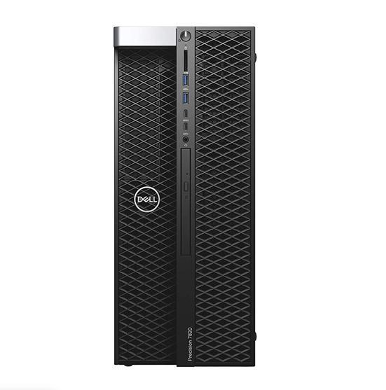 Máy Bộ Workstation Dell Precision 7820 Tower XCTO Base 42PT78D032 (Intel Xeon Silver 4112 2.60GHz, 8.25MB/Ram 32GB (4x8GB) DDR4/HDD 2TB/DVDRW/Nvidia Quadro RTX5000, 16GB, 4DP/Key & Mouse/Win 10 Pro)